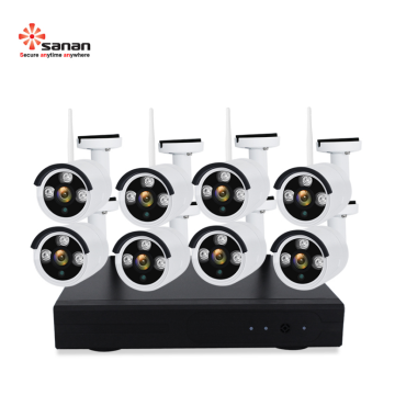 Wireless NVR WIFI CCTV System 8CH