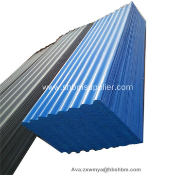 Durable Heat-insulating Fireproof MgO Corrugated Roof Sheets