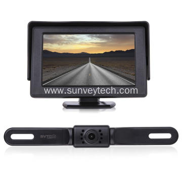 Parking Reversing Aid Car Rear View Camera and Monitor