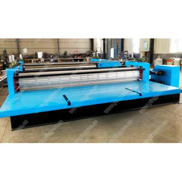 Transverse thin corrugated sheets forming machine