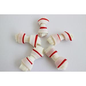 "2.5"" rawhide mini knotted bone"