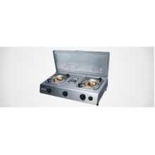 Aisa Style 3 Burners Gas Stove with Cover