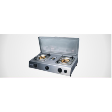 Stainless Steel Gas Stove with Cover