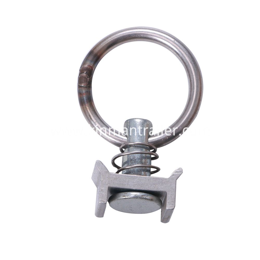 Single Stud Fitting W/ Round Ring