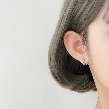 Korean Fashion Jewelry 2020 Olive Leaf Earrings for Women Small Fresh Simple Leaves Earring Jewelry Kolczyki Pendientes