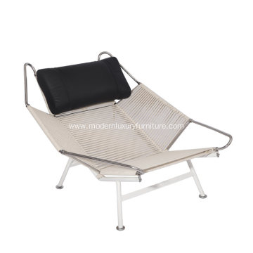 Comfortable Hans Wegner Flag Halyard Reclining Chair