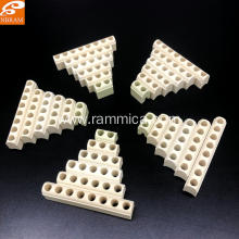Porcelain parts for band heater porous ceramic