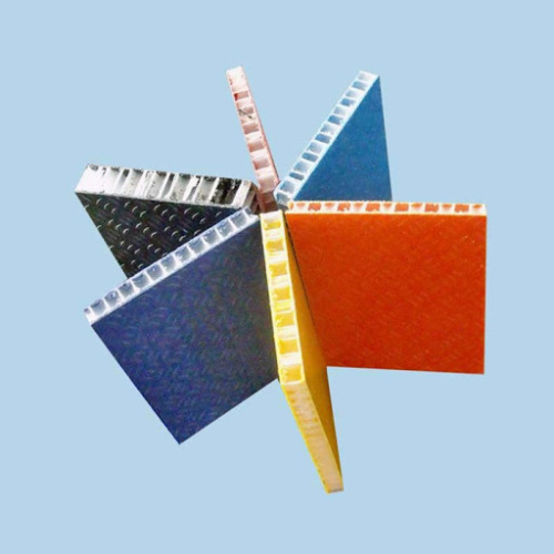 Honeycomb Fabric Aluminum Sandwich Panel