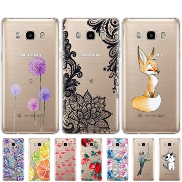 Soft Phone Shell Case For Samsung Galaxy J5 2016 Case J510 J510F Soft Silicon Cover For Samsung J5 2016 Protective Back Cover