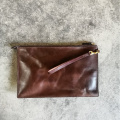 Chic Wristlet Clutch Purse leather Evening Quality Handbag