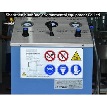 Solvent Recovery Unit Vacuum Device