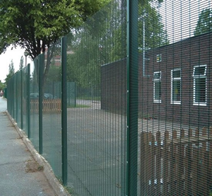2016 PVC/PE coated 358 high security fence