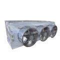 Evaporator Double the Wind Stainless steel Air Cooler