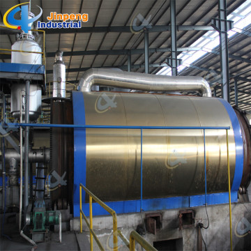 Garbage Rubber Pyrolysis Plant
