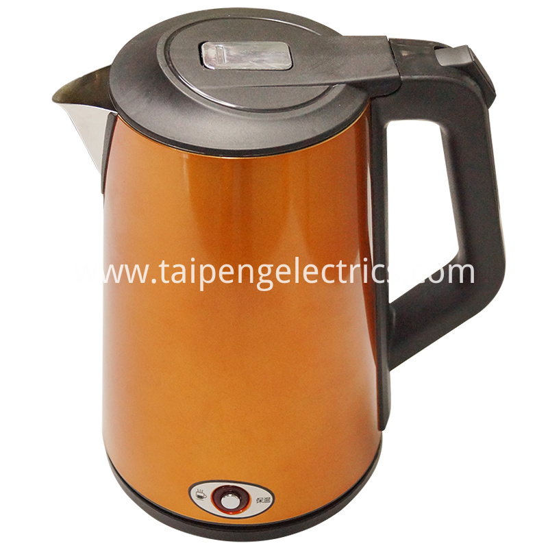 Double wall tea kettle