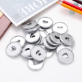 35MM Notepad Binding Buckle Heart Mushroom Hole Binder Ring DIY Planner Notebook Disc Clip Binding Ring Office School Supplies
