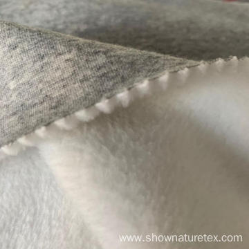 Long Hair Polyester Cotton Fleece Fabric