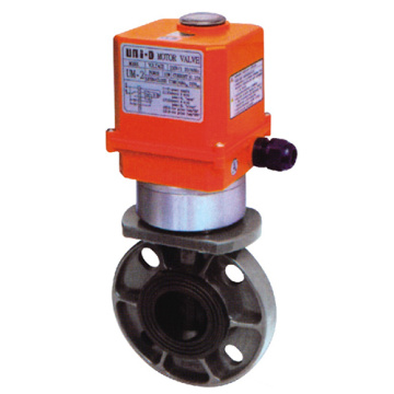 Water Supply Pneumatic Actuator Butterfly Valve
