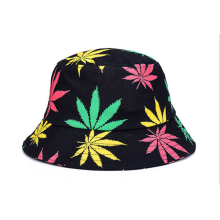 Printing Fashion Women Woven Bucket Hat