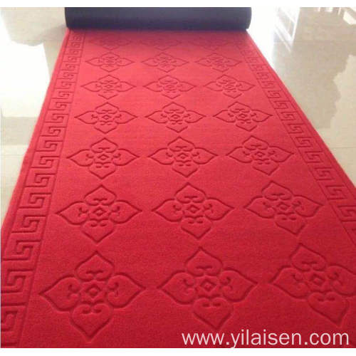 Polyester printed loop pile customized pattern mat