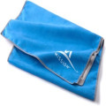 100%  custom sport towel with zipper pocket