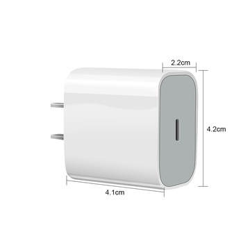 AC/DC Adapter USB-C PD Charger 18W For Apple