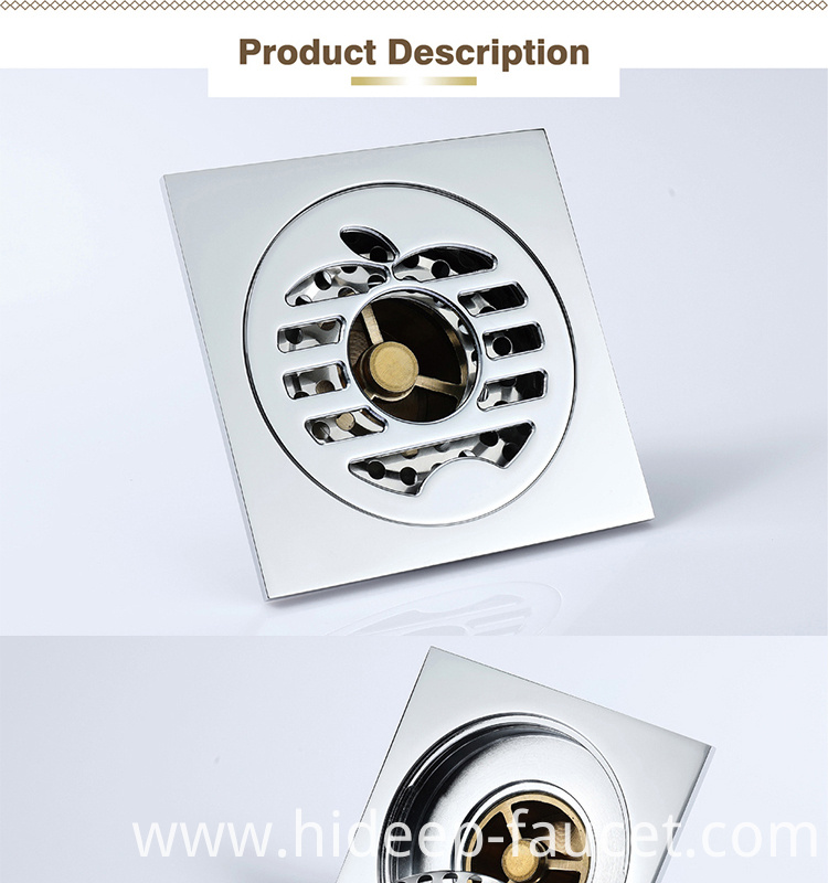 Bathroom Anti Odor Floor Drain