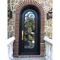 Front Doors With Glass And Wrought Iron