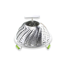 Stainless Steel Folding Vegetable Seafood Steamer Basket