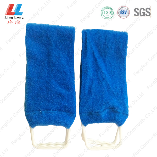 Hot blue long charming back scrubber belt