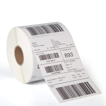 Dymo 4x6 inch thermal barcode label roll