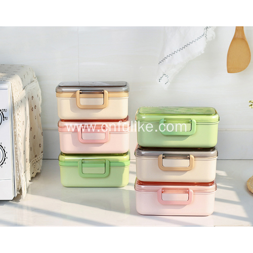 Double Layers Food Container Wholesale