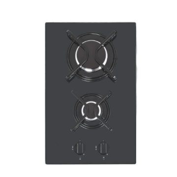 Ceramic Gas Hob 2 Burner Top