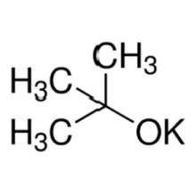 potassium tert-butoxide and tert-butyl alcohol