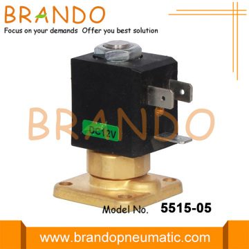 Flange High Temperature Coffee Maker Machine Solenoid Valve