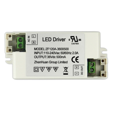18W 36V 500mA White Small Led Power Driver