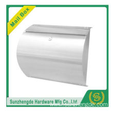 SMB-002SS modern stainless steel wall mounted mailbox
