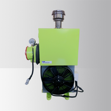 Hydraulic Oil Cooler With Fan For Concrete Mixer