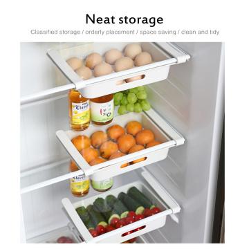Refrigerator Fresh-keeping Storage Box Bracket Food Storage Box Drawer Novelty Fruit And Vegetable Storage Basket