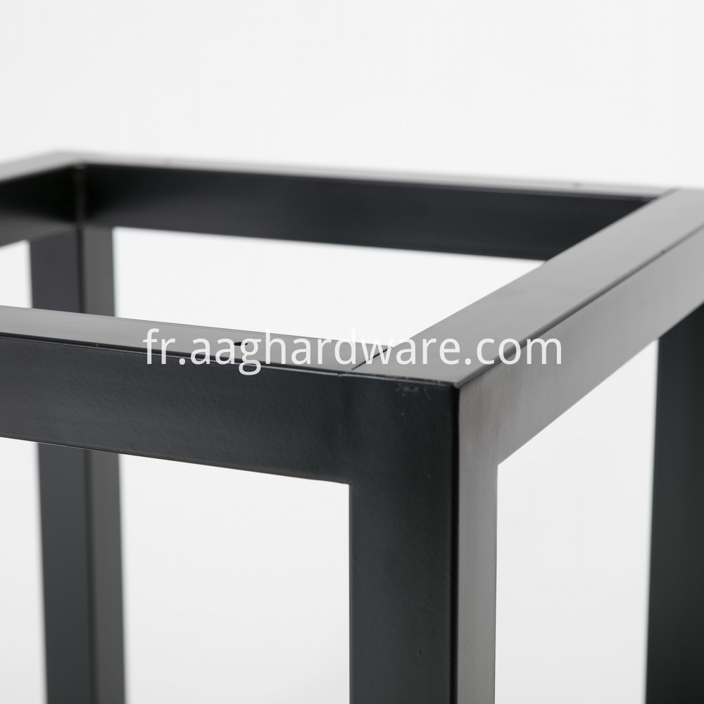 Metal Square Coffee Table Leg