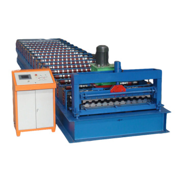 machine for metal corrougated making sheets