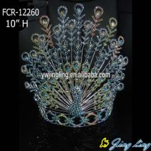 Peacock animal pageant crown