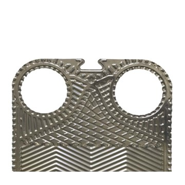 Heat exchanger plate 0.5mm stainless food S42