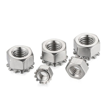 High Quality Stainless Steel Kep Nuts