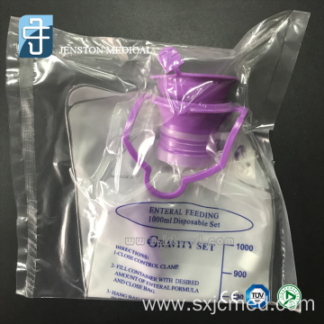 Medical Enteral gravity feeding bag