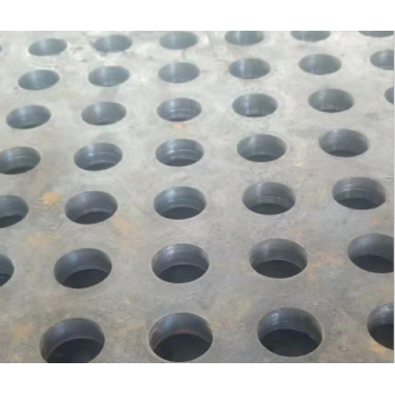 Steel plate welding process
