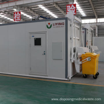Hospital Waste Disinfection System