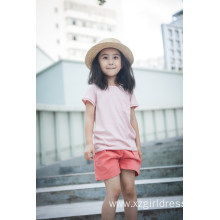 100% Cotton Unisex Kids Clothes T-Shirt for Summer