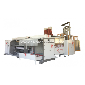 Four-Shafts Roll Changing Cast Film Machine