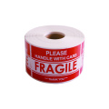 Good Quality Shipping Label Fragile Warning Label Sticker